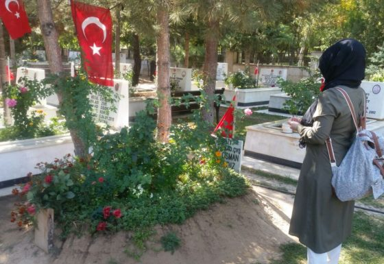 Konya'dan Şehitlere Ziyaret