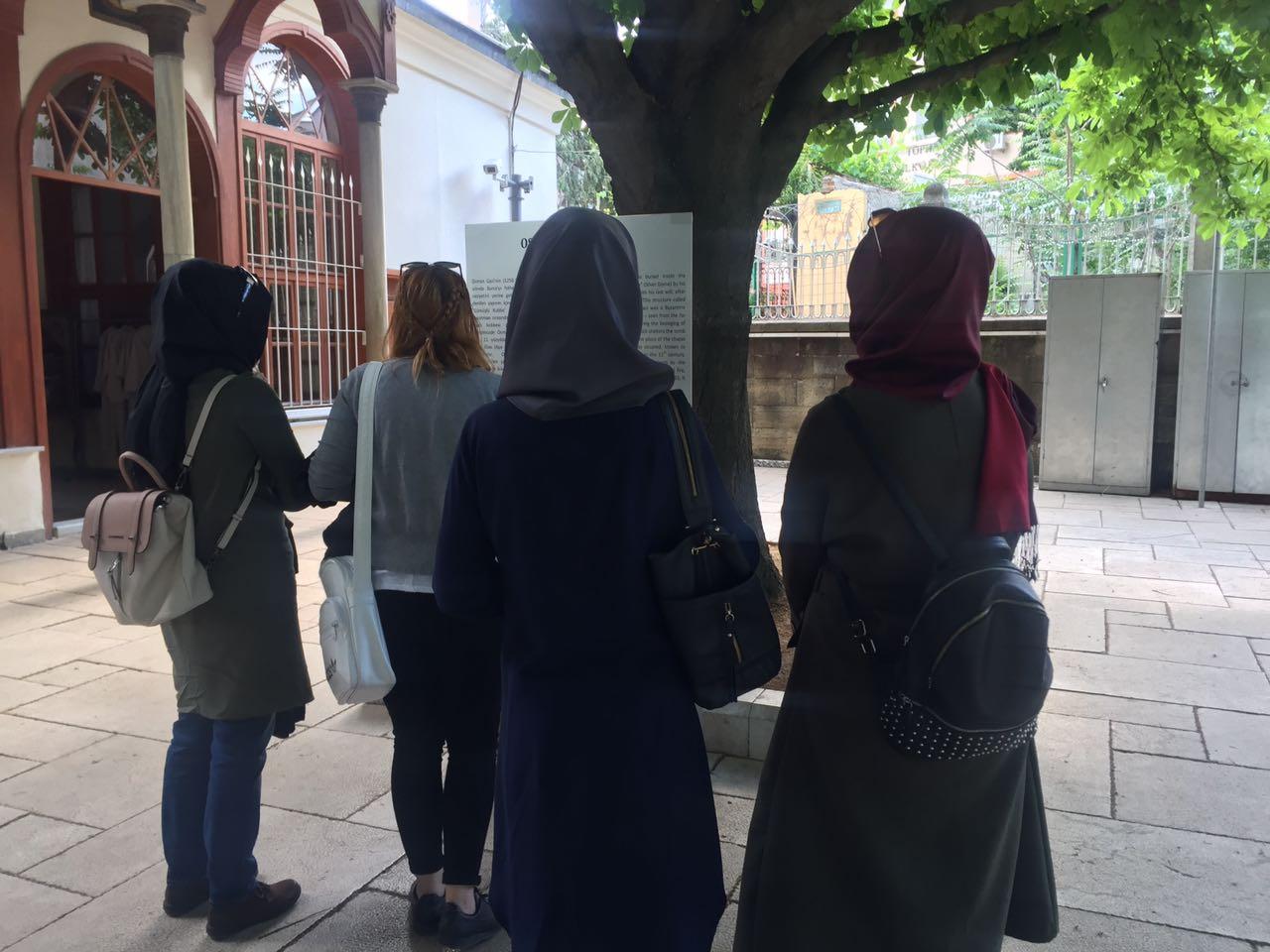 Bursa Genç İmam Hatipliler Derneği'nden Oğuz Boyuna Ziyaret