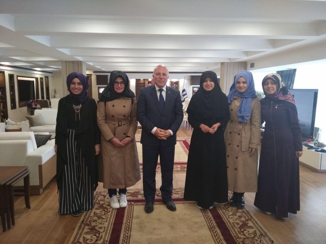 Erzurum'da Mehmet Sekmen'e Ziyaret