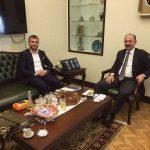 İçişleri Bakanlığı Personel Genel Müdürü Serdengeçti'ye Ziyaret